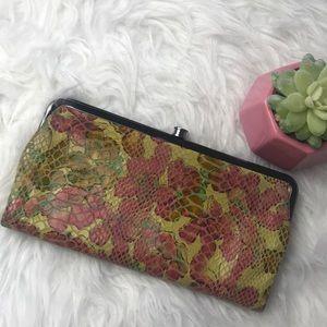 Hobo International Lauren Floral Clutch Wallet